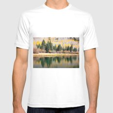 Enchiladas in the Trees 3 SMALL White Mens Fitted Tee