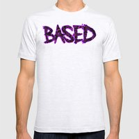 BASED Mens Fitted Tee Ash Grey SMALL