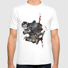 Kunoichi 3 of 4 White Mens Fitted Tee SMALL