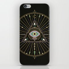 Evil Eye Mandala – Bla… iPhone & iPod Skin