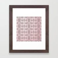 Ornamental Pattern 4 Framed Art Print