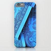 iPhone & iPod Case featuring Four Crisp Dollar Bills by Misha Dontsov