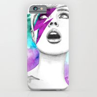 iPhone & iPod Case featuring Bowia by Camis Gray