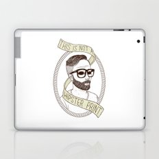 This Is Not A Hipster Print Laptop & iPad Skin