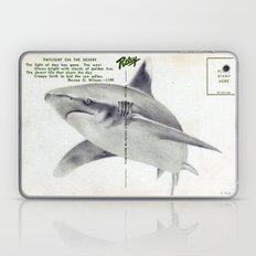 Postcard Shark Laptop & iPad Skin