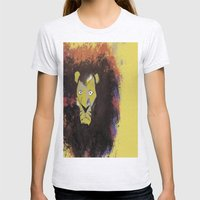 Leo  Womens Fitted Tee Ash Grey SMALL