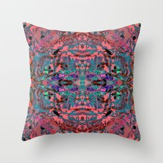Laced Throw Pillow