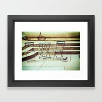 In Search Of Framed Art Print