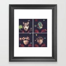 Star Team - Pirates of Lylat Framed Art Print