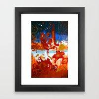 W H A T D I D I J U St S… Framed Art Print