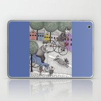 The Day the Cat got Away Laptop & iPad Skin