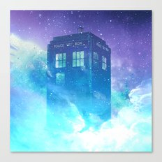 BBC Doctor Who Tardis Canvas Print