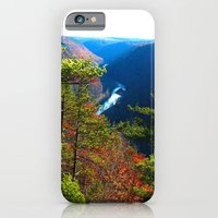 iPhone & iPod Case featuring Pennsylvania Grand Canyon by ArtRaveSuperCenter: Ave Hurley Illustrat