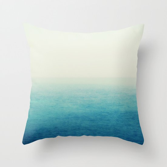 Large Blue Throw Pillows : The Big Blue Throw Pillow by HooVeHee Society6