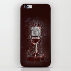 DARK MICROPHONE iPhone & iPod Skin