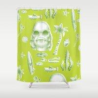 Beachure Shower Curtain