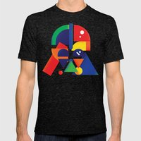 The Shape Side Mens Fitted Tee Tri-Black SMALL