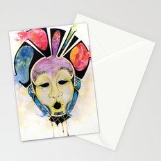 Veto's Mask Stationery Cards