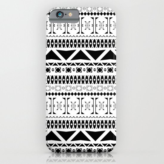Black & White Pattern iPhone & iPod Case