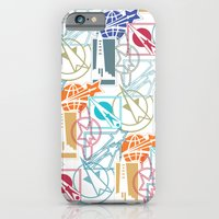 Space Badges iPhone 6 Slim Case