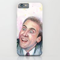 iPhone & iPod Case featuring Nicolas Cage You Don't Say by Olechka