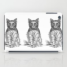 BAT CAT iPad Case