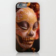 Pumpkin Harvest Muertita Detail iPhone 6 Slim Case