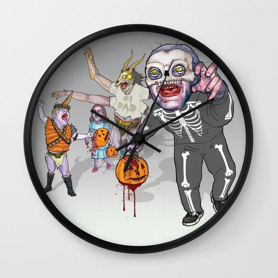 Trick or Tremble Wall Clock