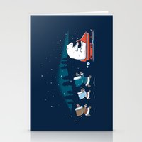 Grand Theft Arctic Stationery Cards