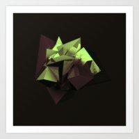 Sulfur Art Print