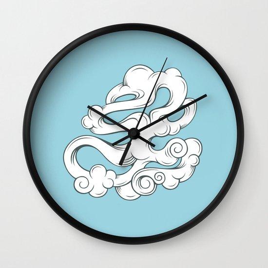 Cirrus///4 Wall Clock