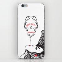 drop dead gorgeous iPhone & iPod Skin