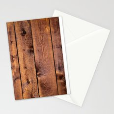 Wyoming Wood Board Planks, Texture Wood Grain  Stationery Cards