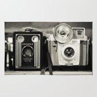 A Pair Of Kodak Brownies… Rug
