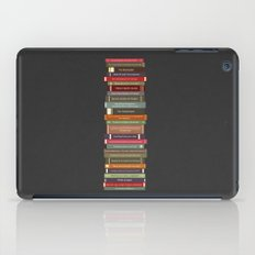 Ghostbusters stacked books iPad Case