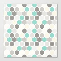 Geometric One Canvas Print