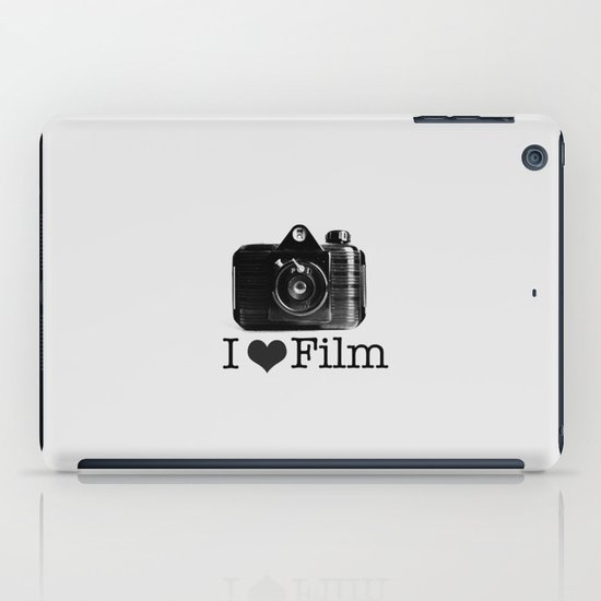 I ♥ Film (Grey/Black) iPad Case