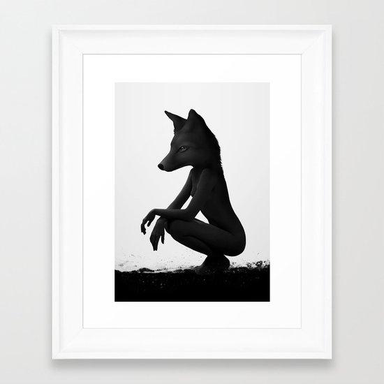 The Silent Wild Framed Art Print