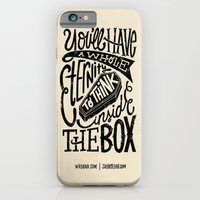 iPhone Cases featuring Inside The Box -Jay Roeder version- by WRDBNR