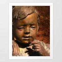 Bow Before Children Art Print