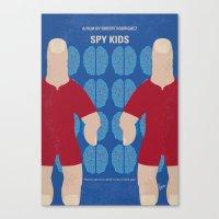No681 My Spy Kids minimal movie poster Canvas Print