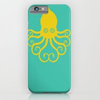 iPhone & iPod Case featuring The Kraken Encounter by Dampa