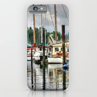 Vancouver Boat Harbor iPhone 6 Slim Case