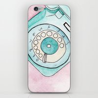 Vintage Telephone iPhone & iPod Skin