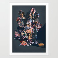 Rogue Squadron // Unsung Heroes of Star Wars Art Print
