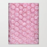 BUBBLEWRAP Canvas Print