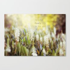 See the Light Canvas Print