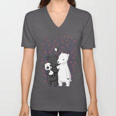 Bear Family Unisex V-Neck