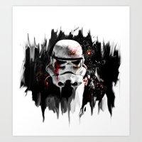 war is over Art Print