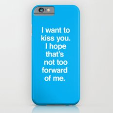 Kiss You Slim Case iPhone 6s